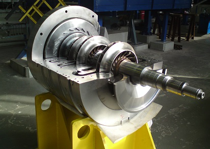 The Modernization Consisted In Full Replacement Of Flow Part Compressor With 6